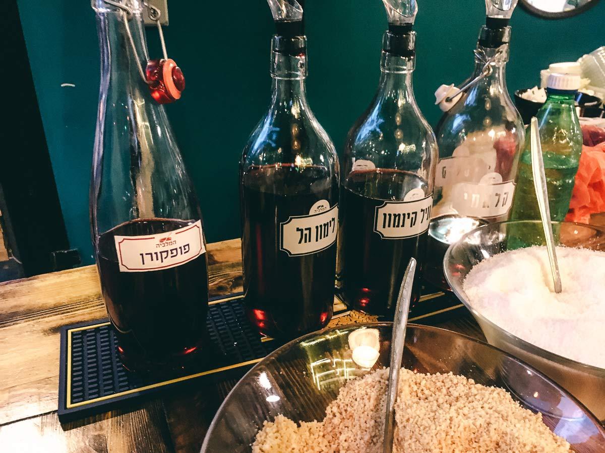 Hamalabiya Bier mit Rosenwasser