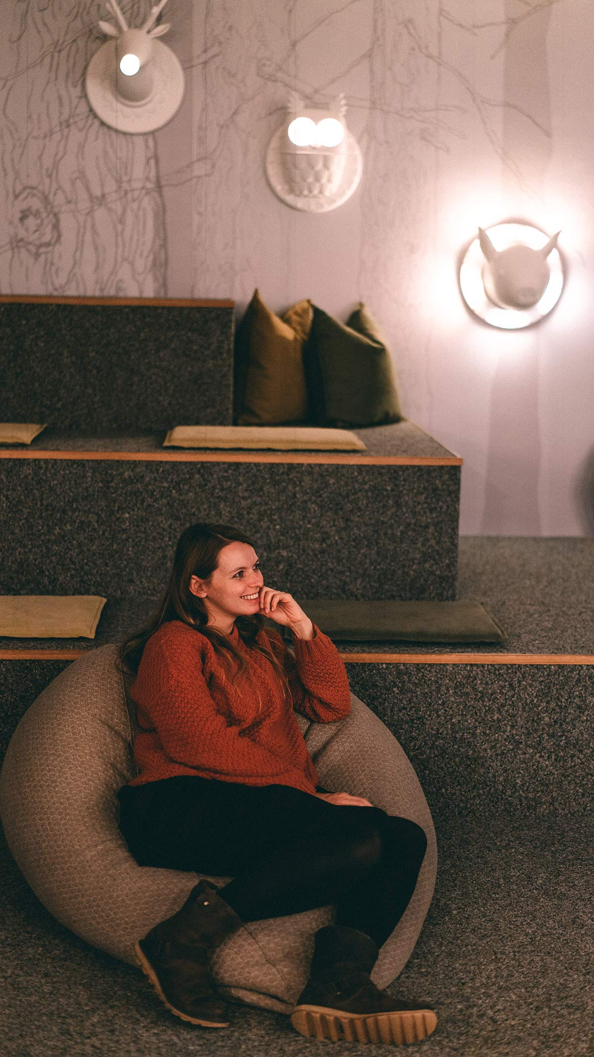 Hotel Tofana Alta Badia Medienraum Gemeinschaftsraum