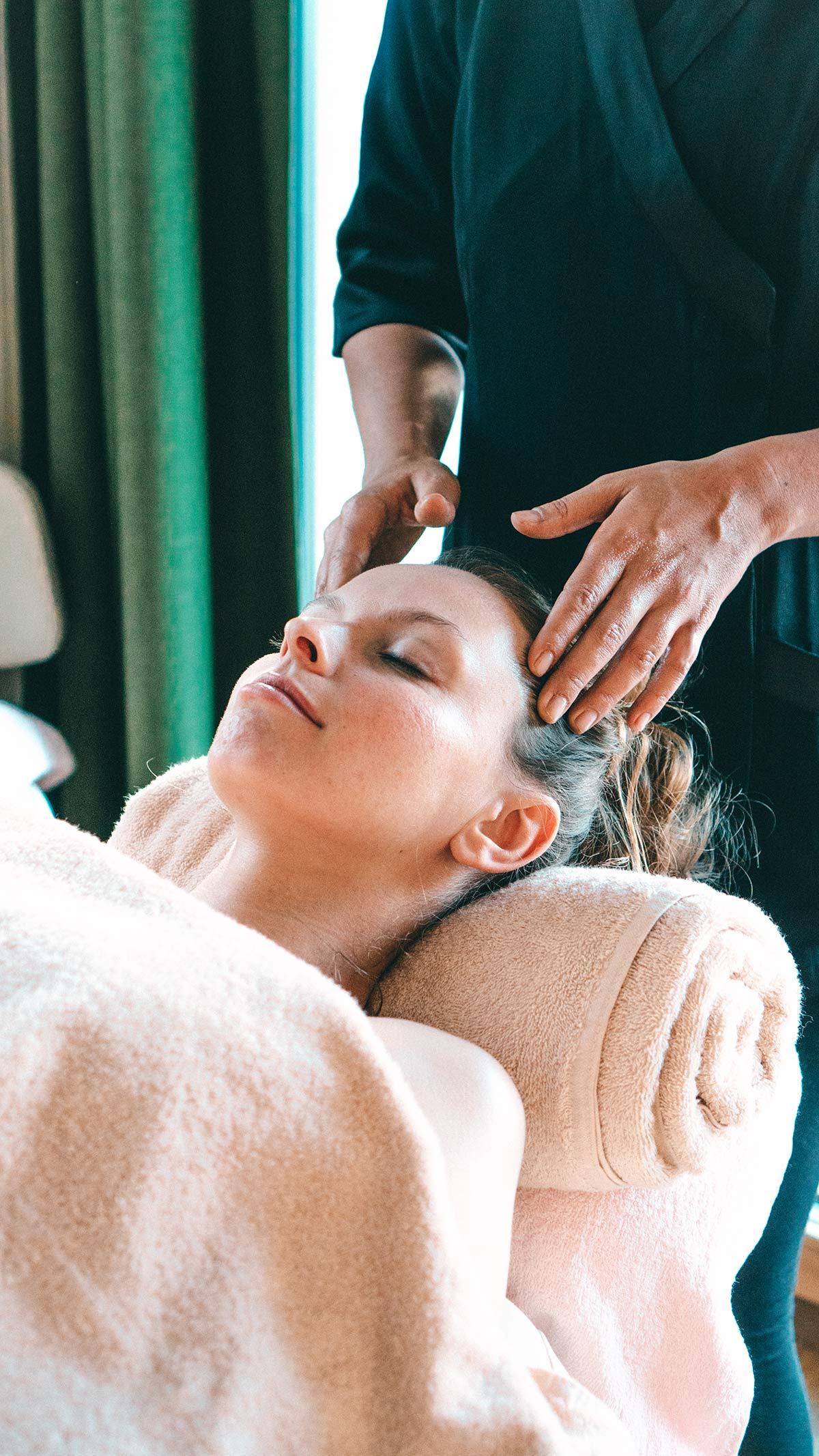Hotel Tofana Massage Gesichtsbehandlung