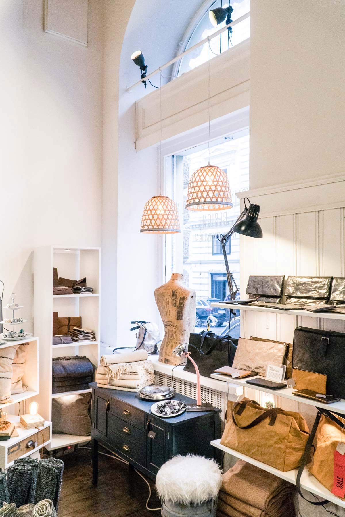 Interieur Laden in Wien