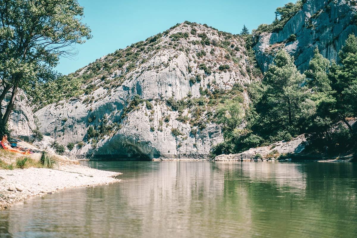 Lac Peirou Frankreich