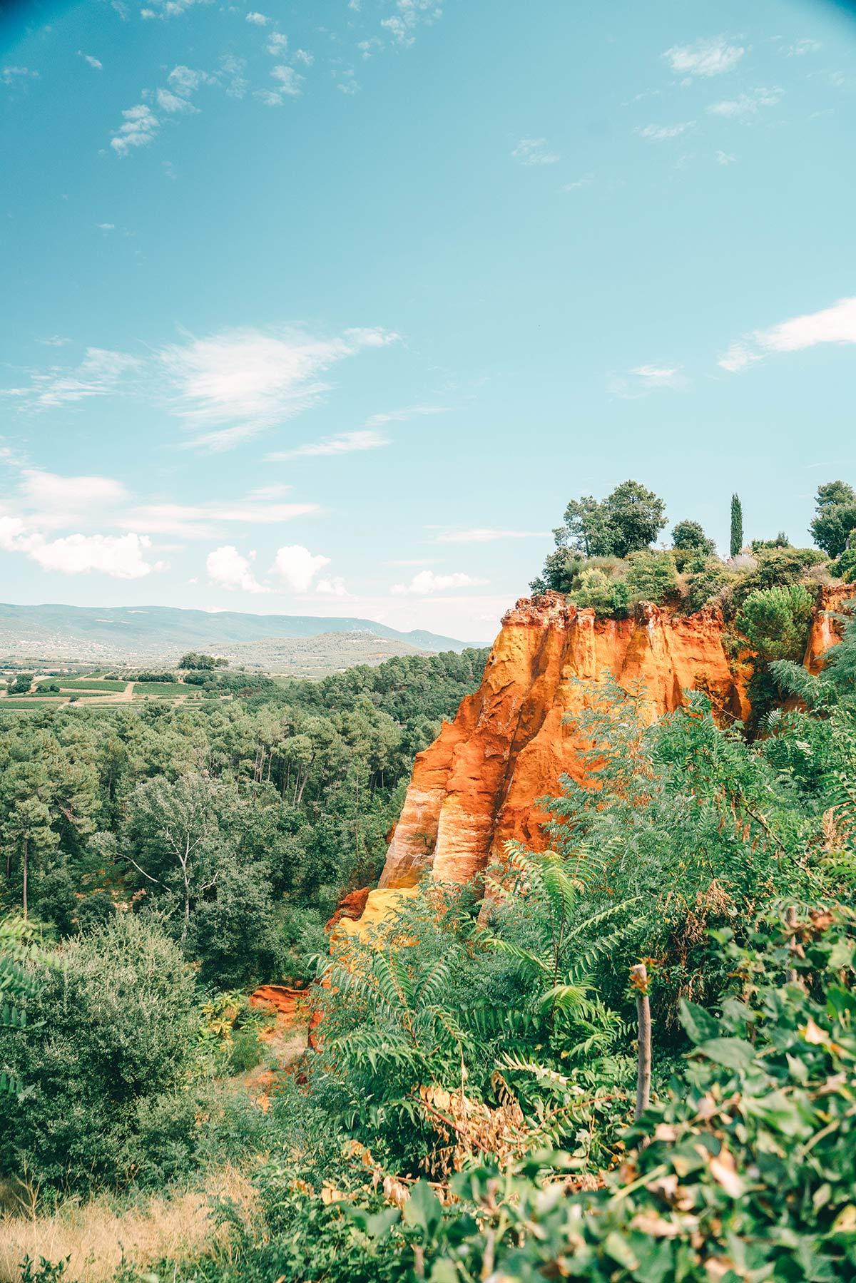 Landschaft Roussillon