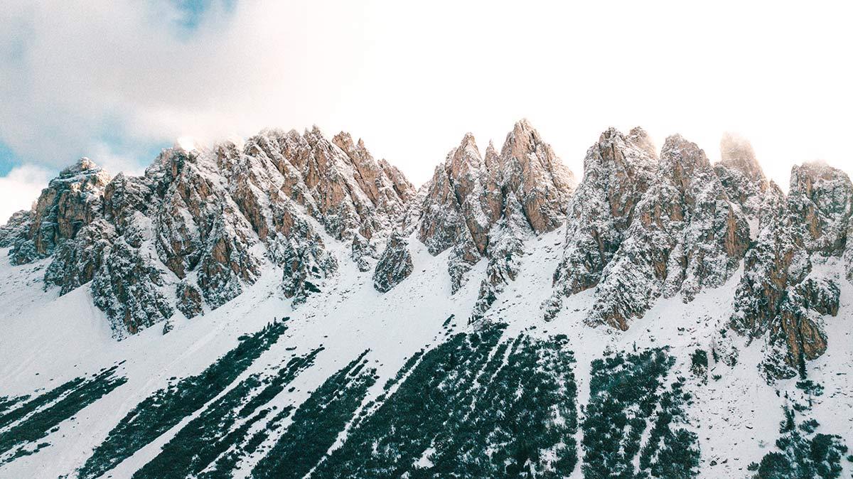 Langenthal Dolomiten Landschaft Berge
