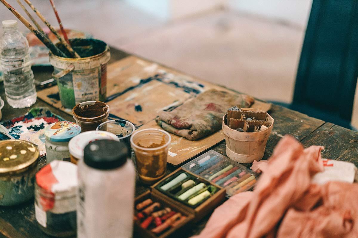 Malen mit Ocker