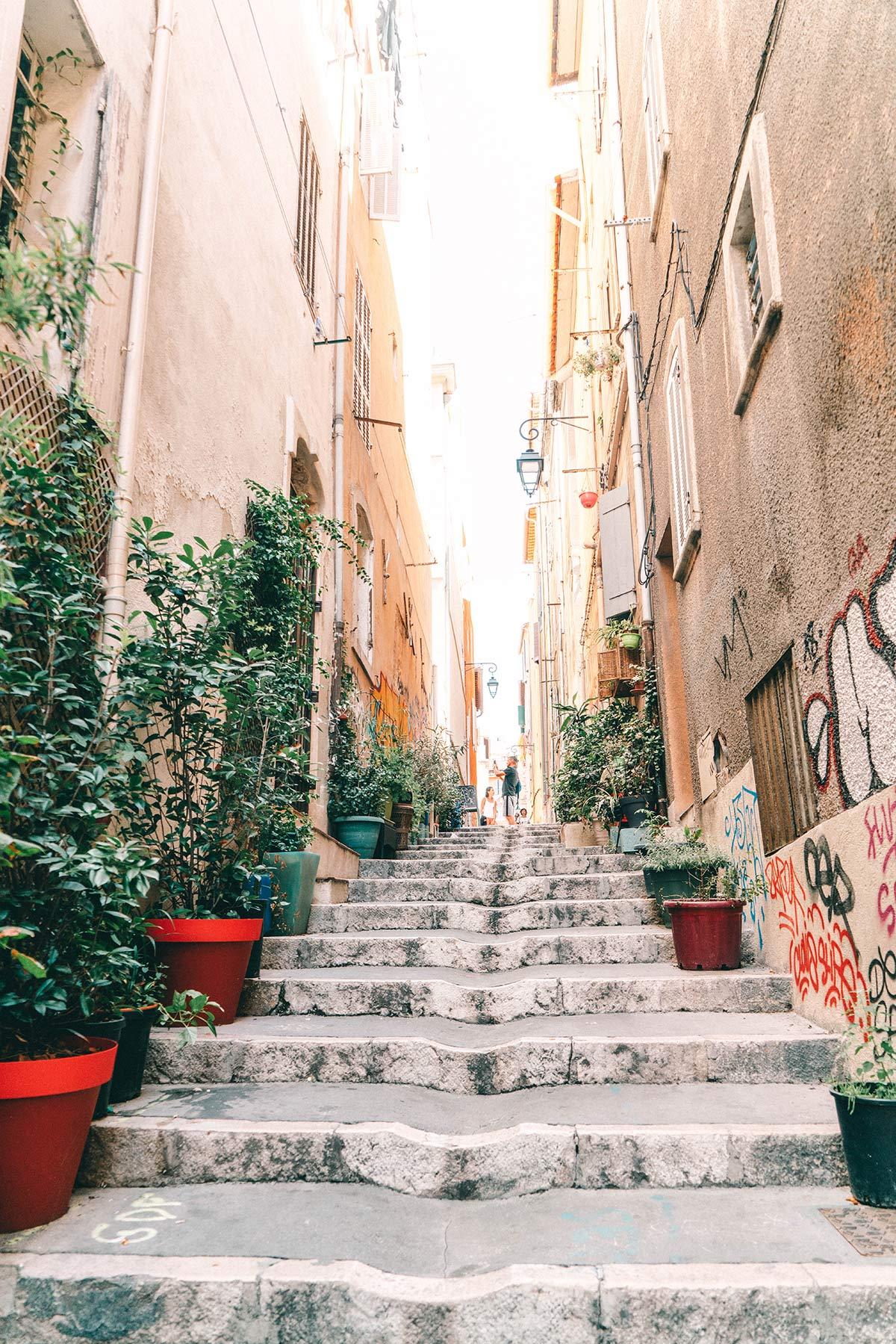 Marseille Gassen