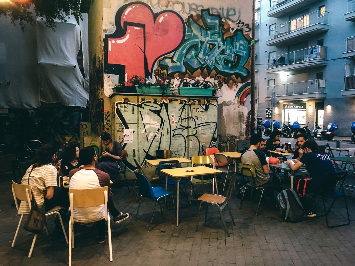 Restaurant in Tel Aviv Hamalabiya