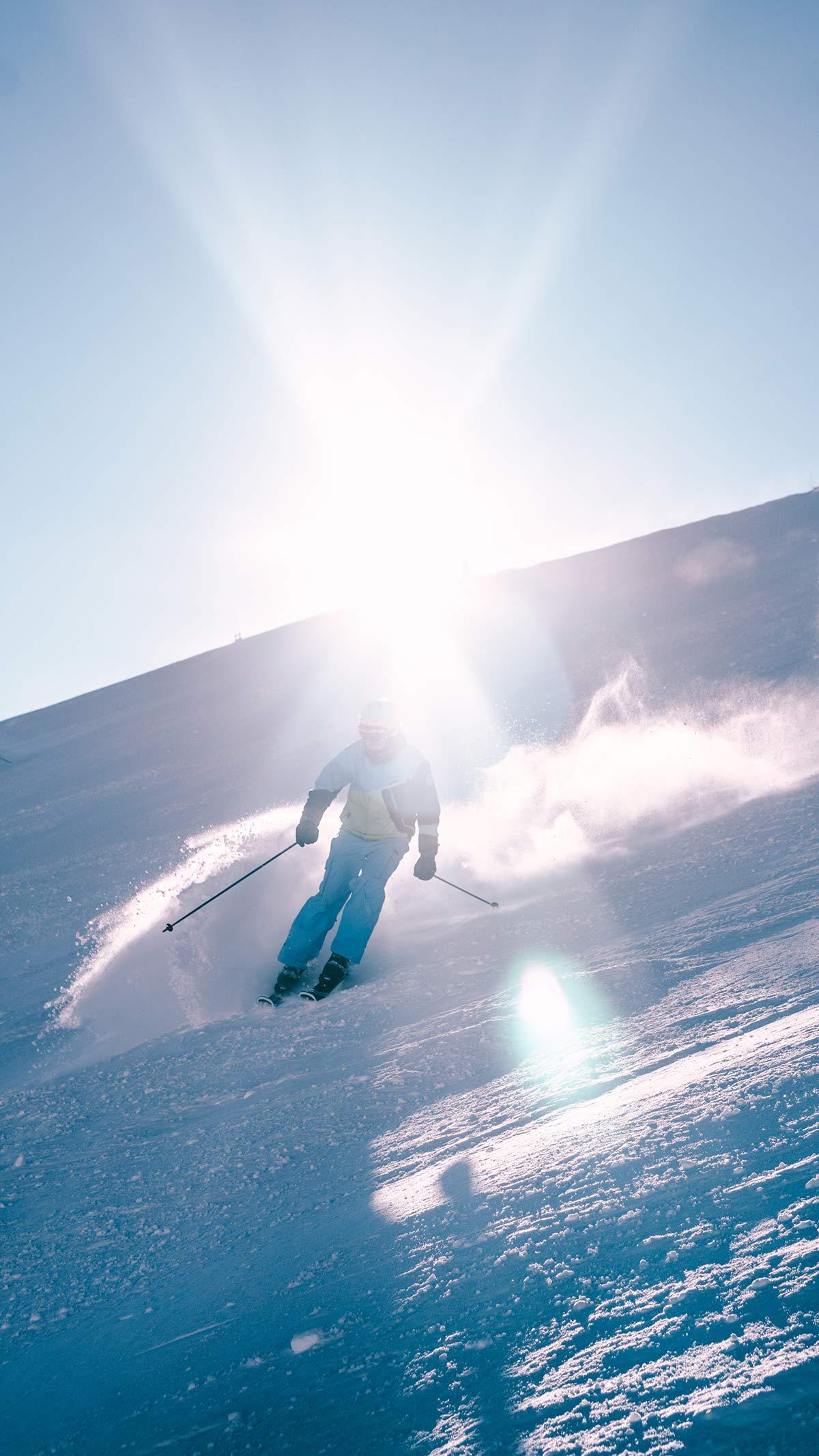 Serfaus Fiss Ladis Ski Fahrer