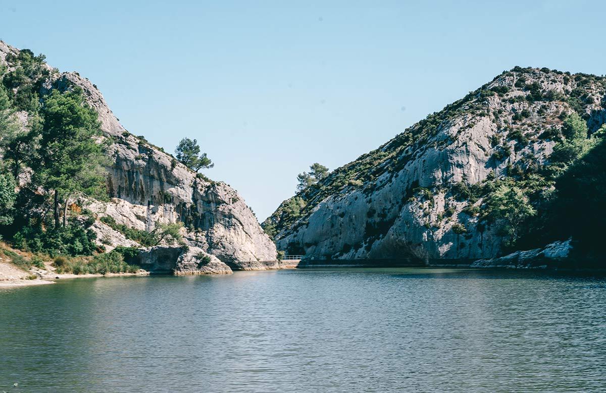 Stausee Lac Peirou