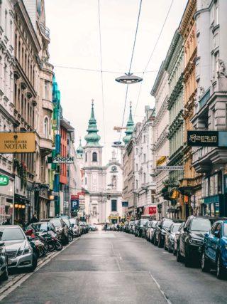 Strasse in Wien