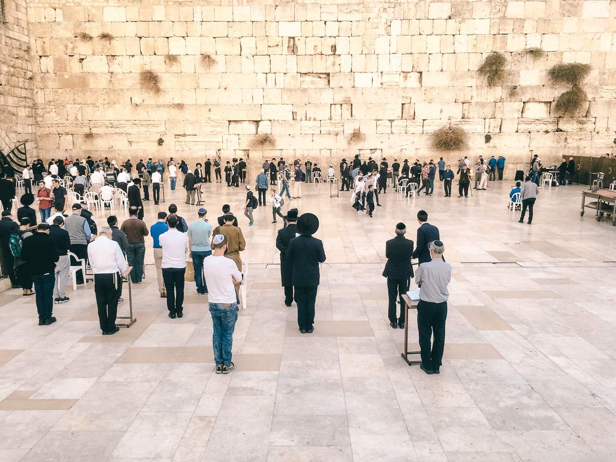 Tel Aviv Klagemauer Jerusalem