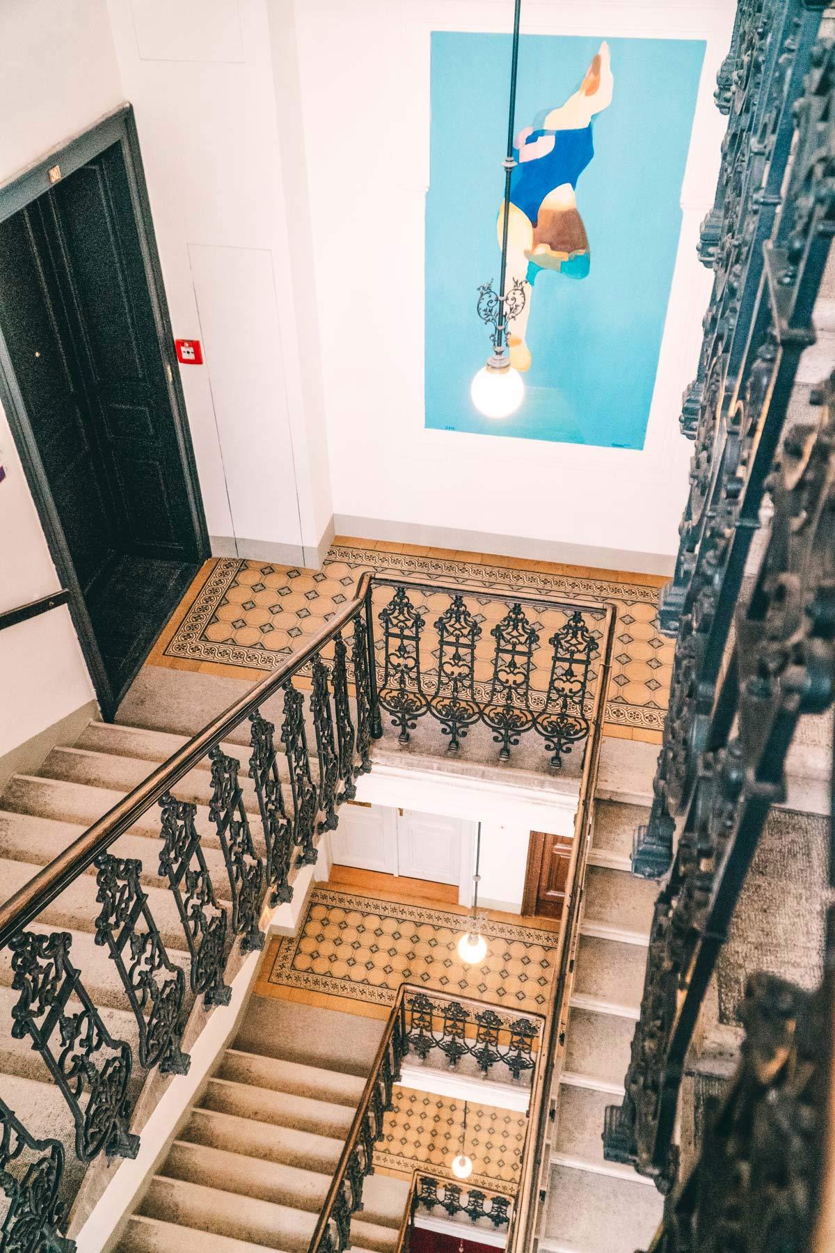 Treppenhaus in Wien