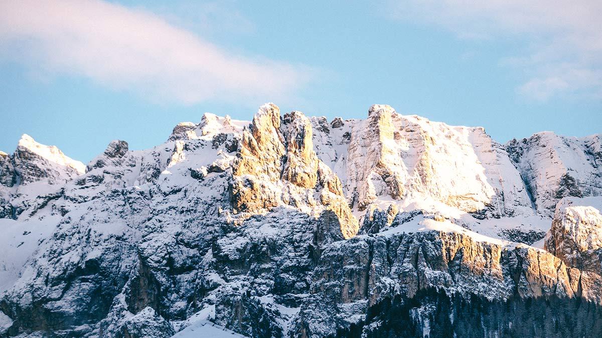 Wolkenstein Dolomiten Ausblick