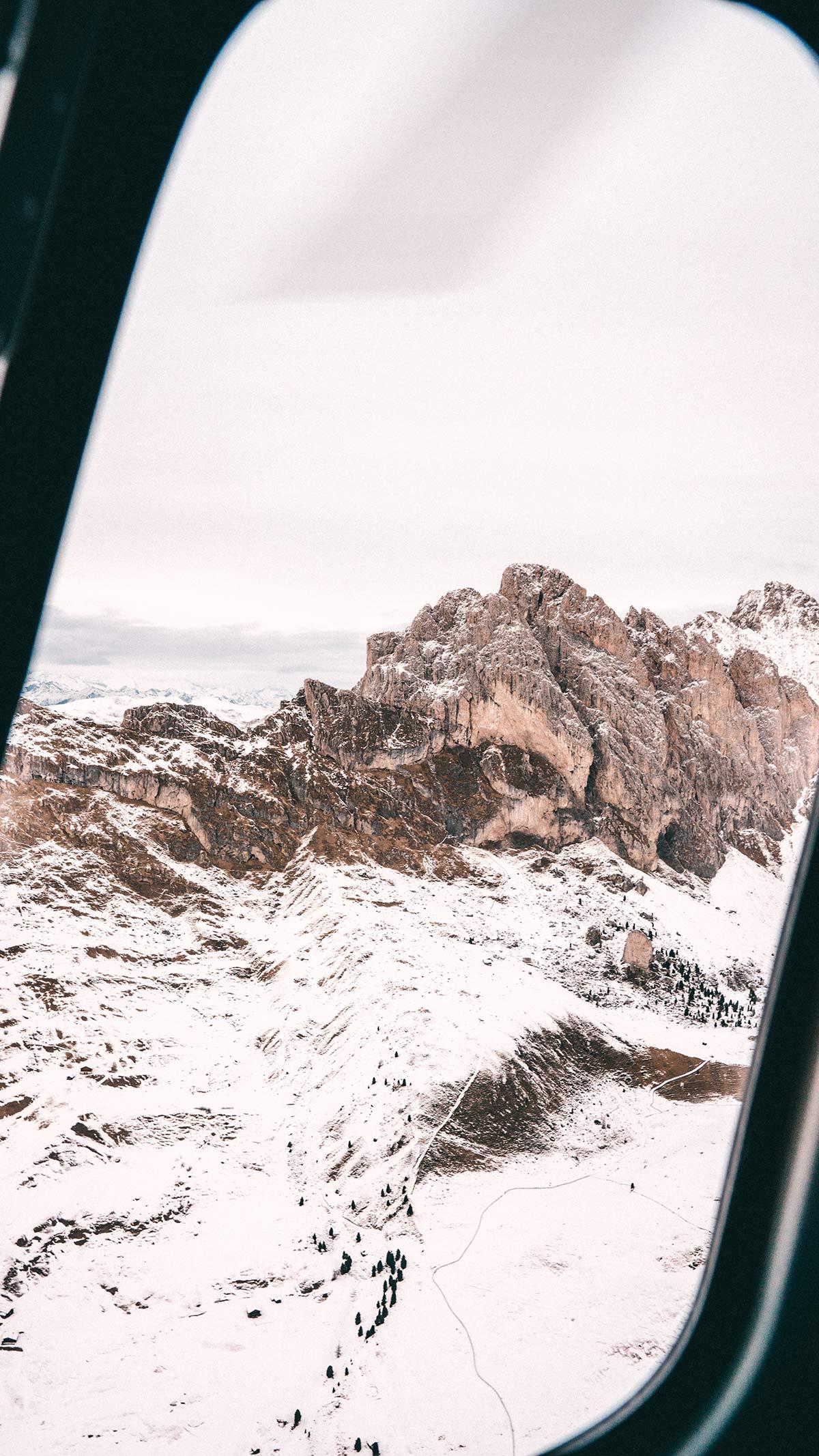 Wolkenstein Helikopterrundflug Dolomiten