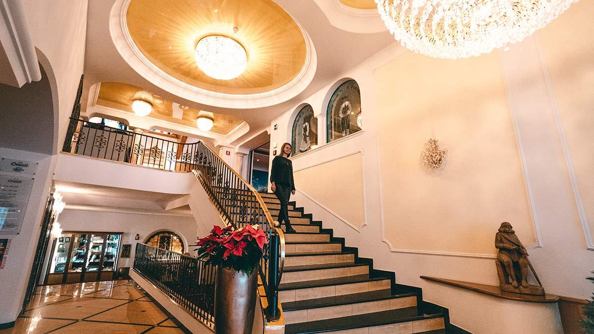 Wolkenstein Hotel Oswald Lobby
