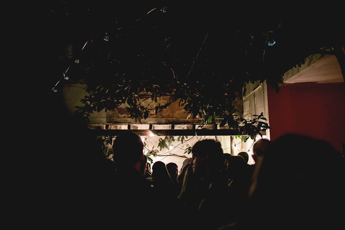 Aussenbereich Restaurant Casa Independente