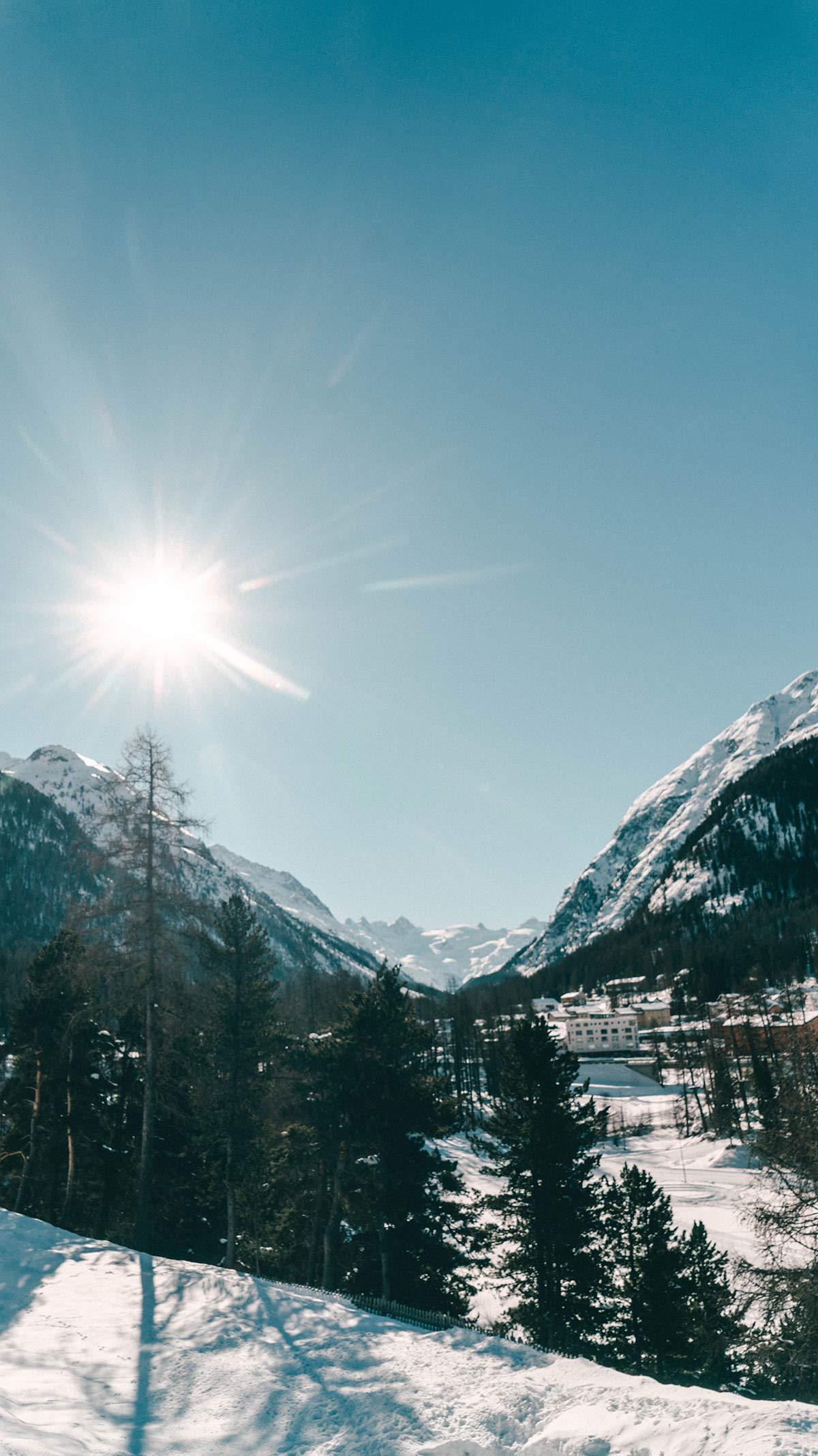 Aussicht Tal Schweiz