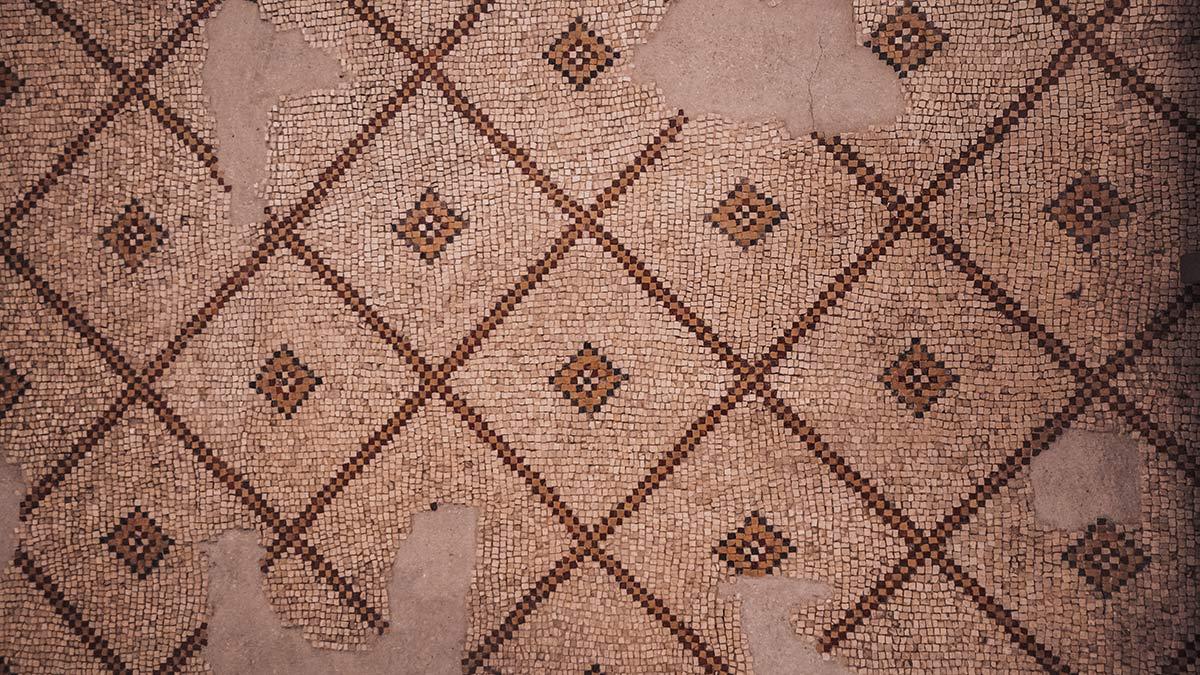 Berg Nebo Kirche Mosaik