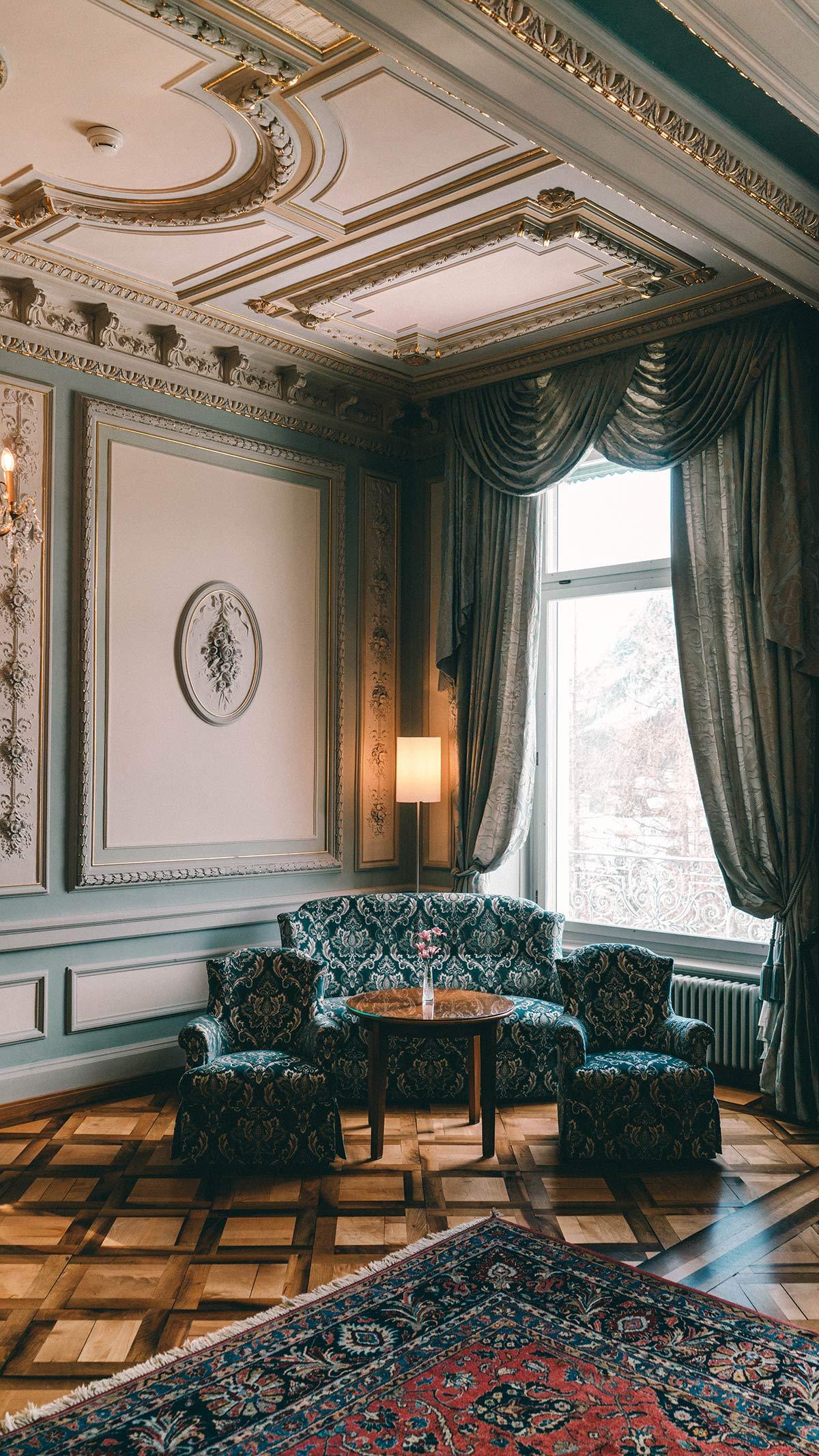 Grand Hotel Kronenhof Salon