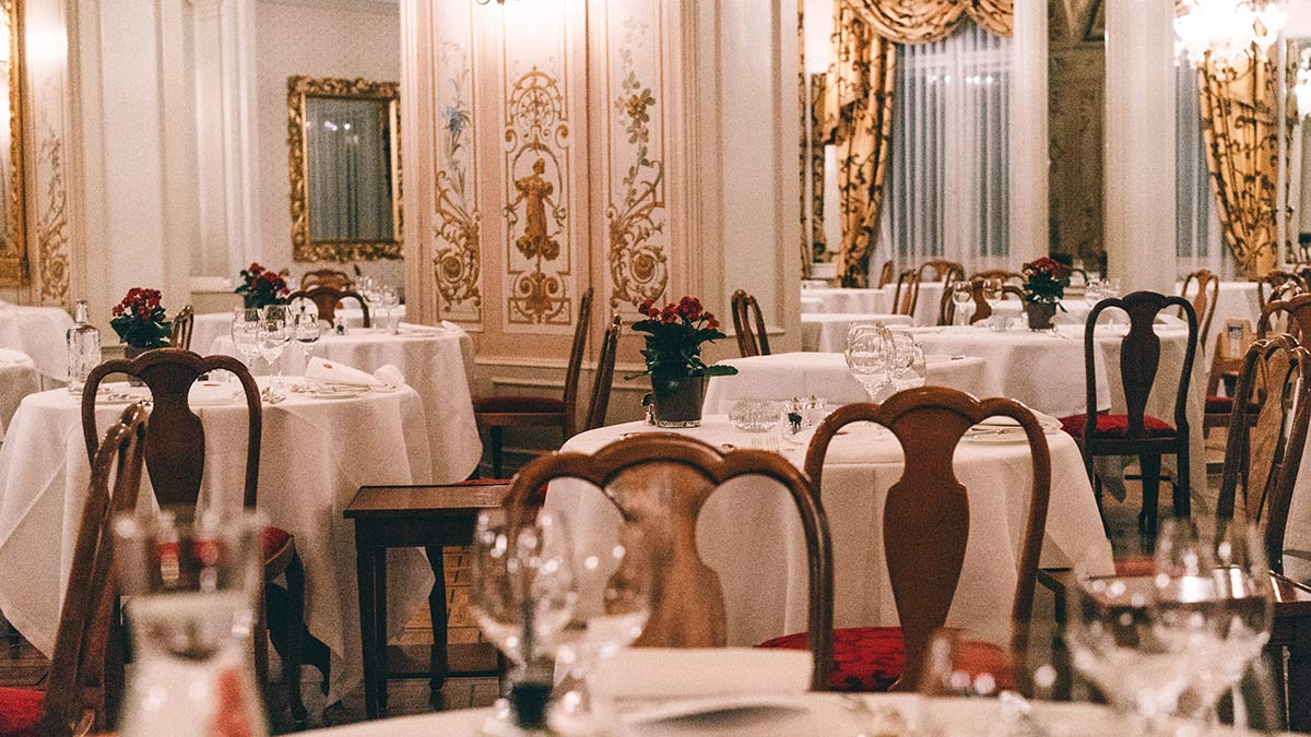 Grand Hotel Kronenhof Speisesaal