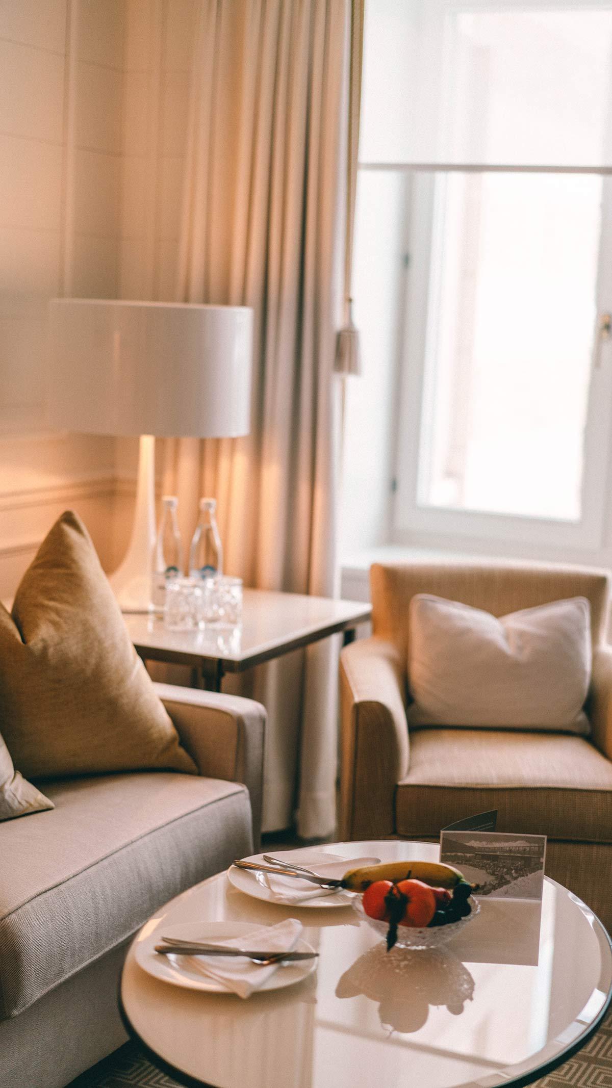 Grand Hotel Kronenhof Zimmer