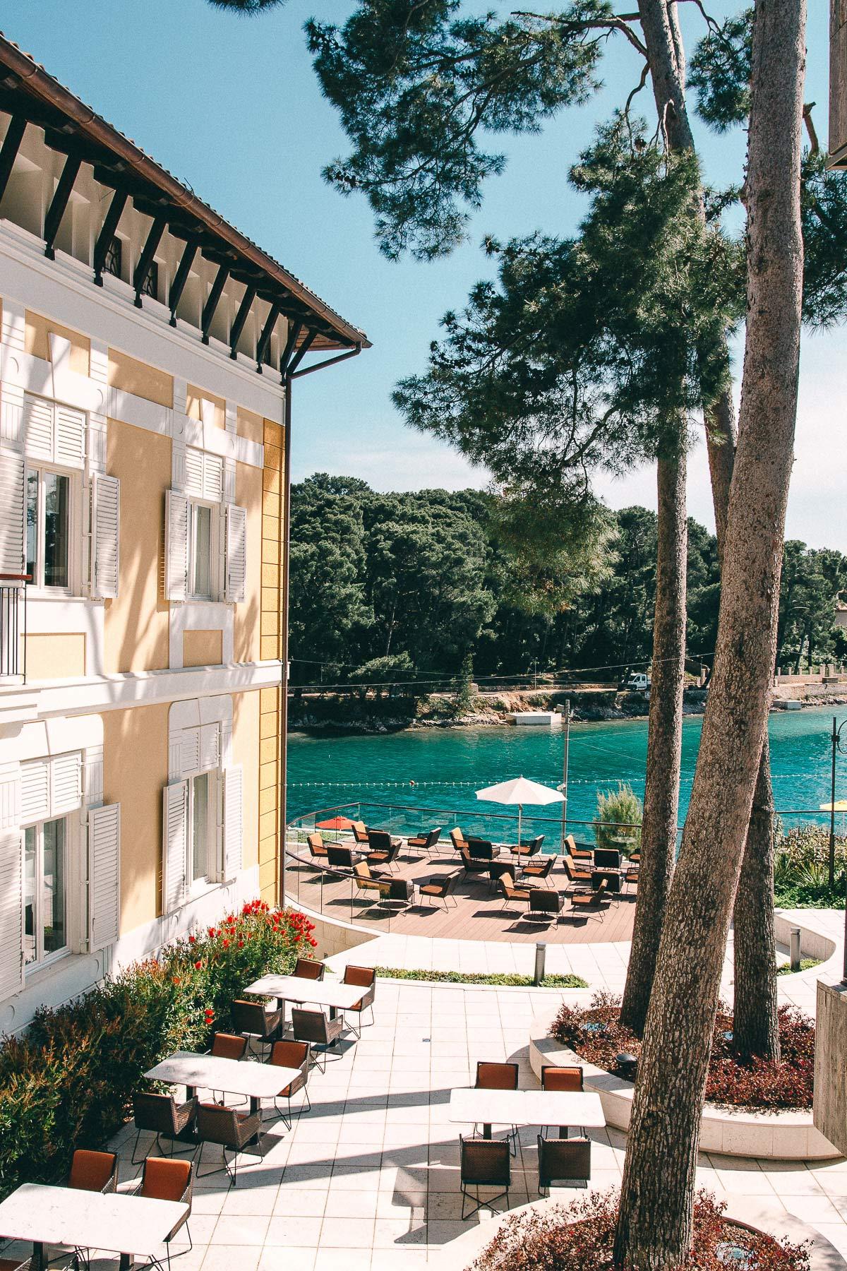 kroatien hotel am meer