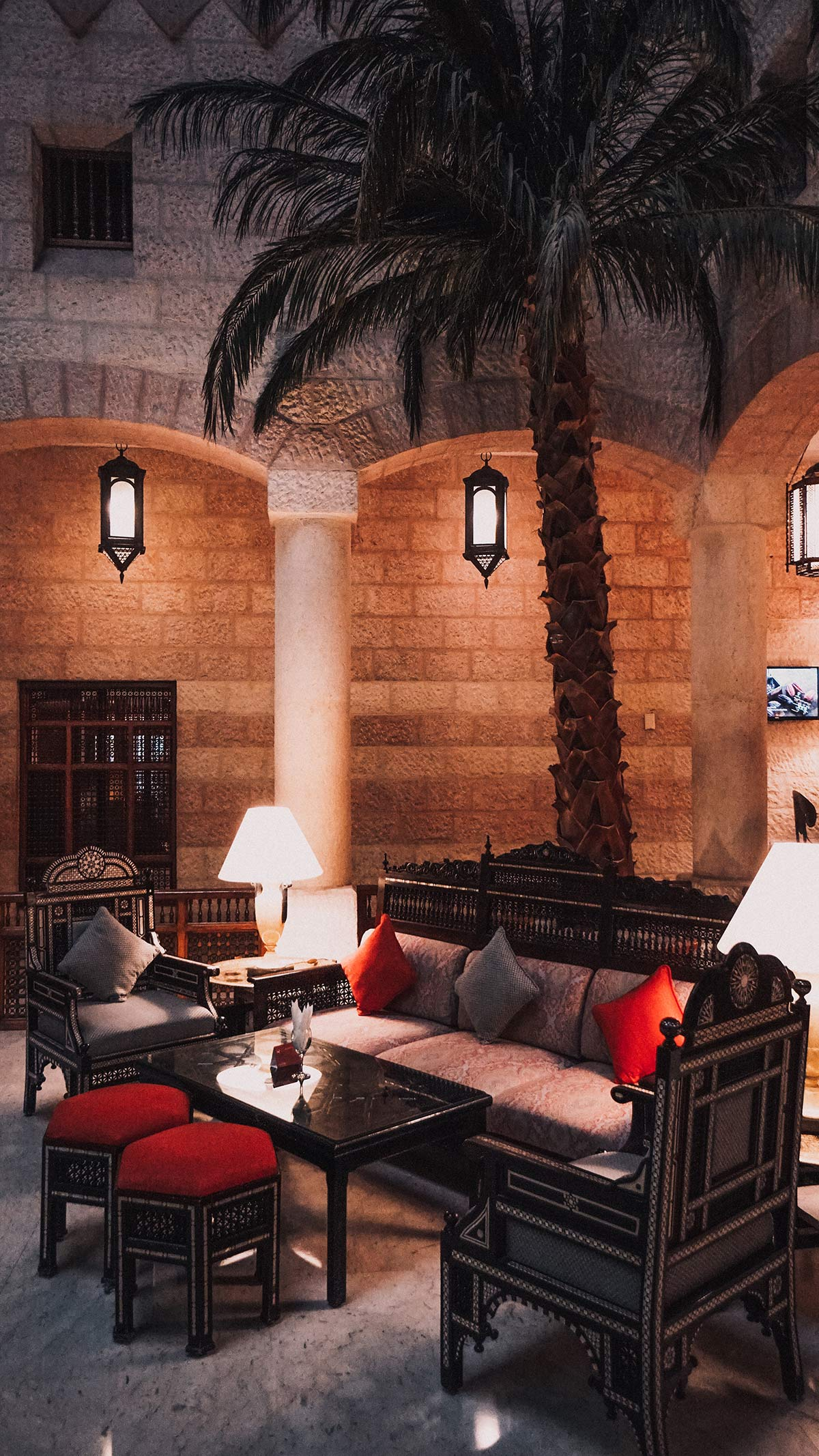 Moevenpick Lobby Hotel Petra