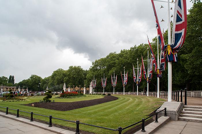Park am Buckingham Palace