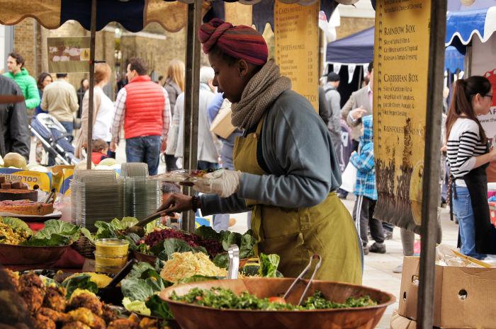 Partridges Markt in Chelsea