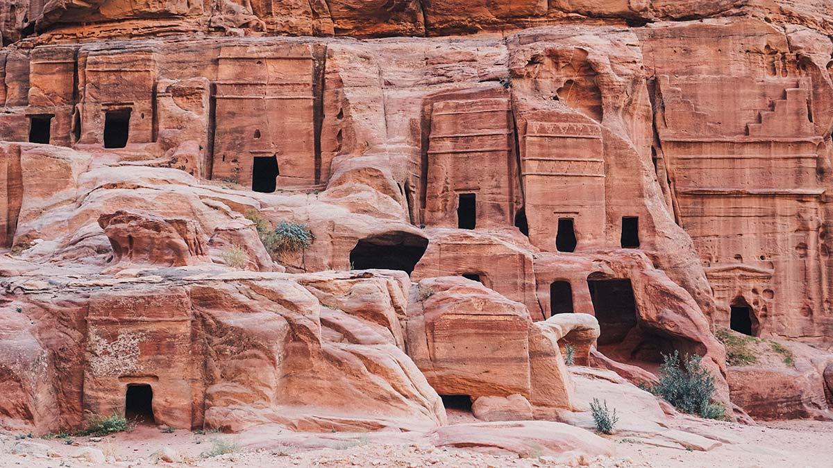 Petra Felsenstadt der Nabataer