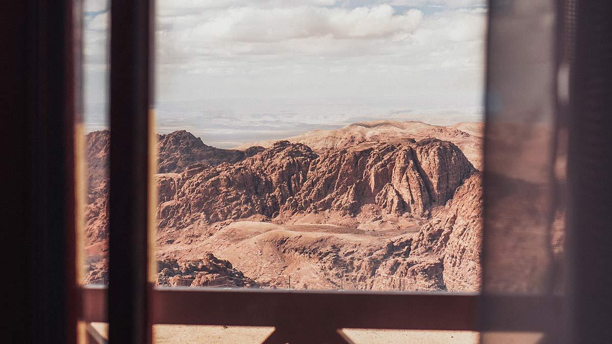 Petra Moevenpick Nabatean Castle Ausblick