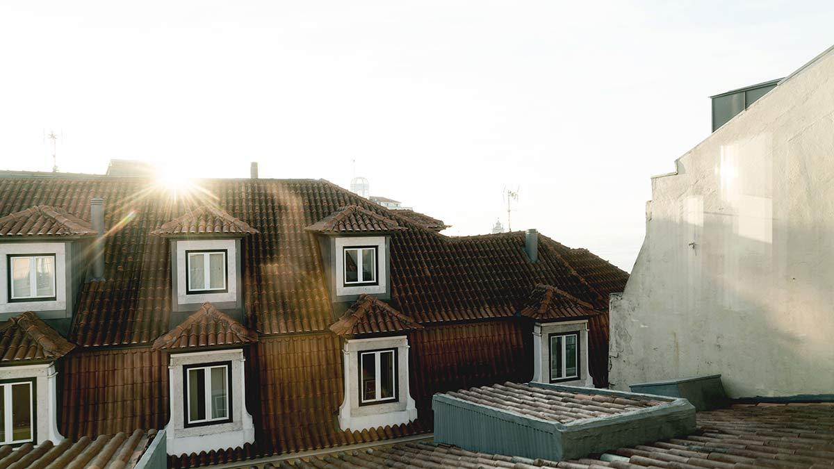 Sonnenaufgang Lissabon