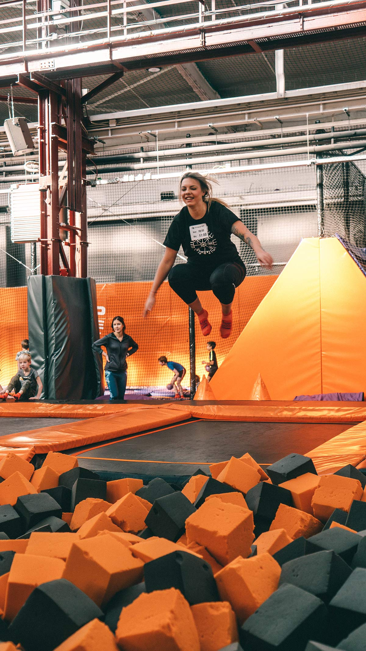 Springen im Jump House Berlin