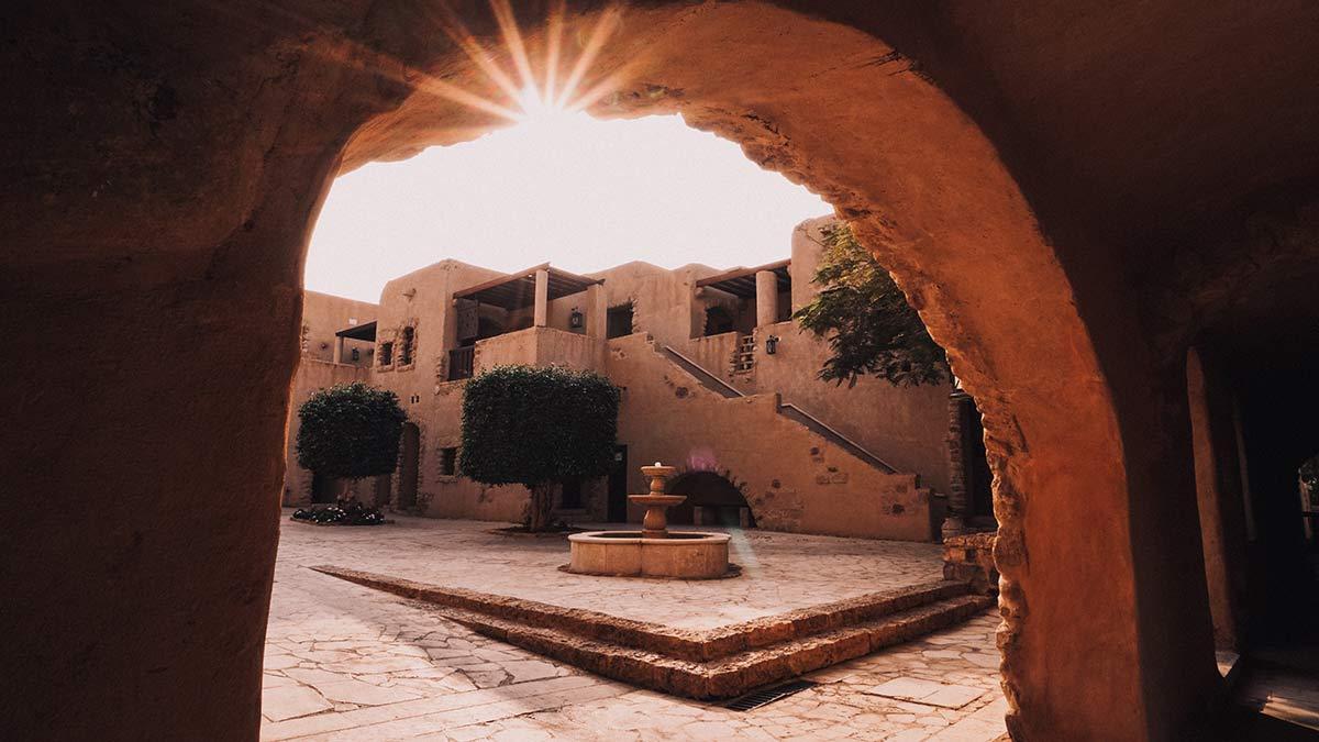 Traditionelles arabisches Dorf Moevenpick Totes Meer