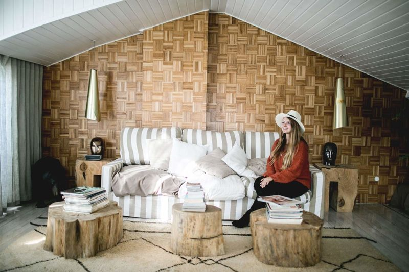 Wohnzimmer Airbnb Wohnung