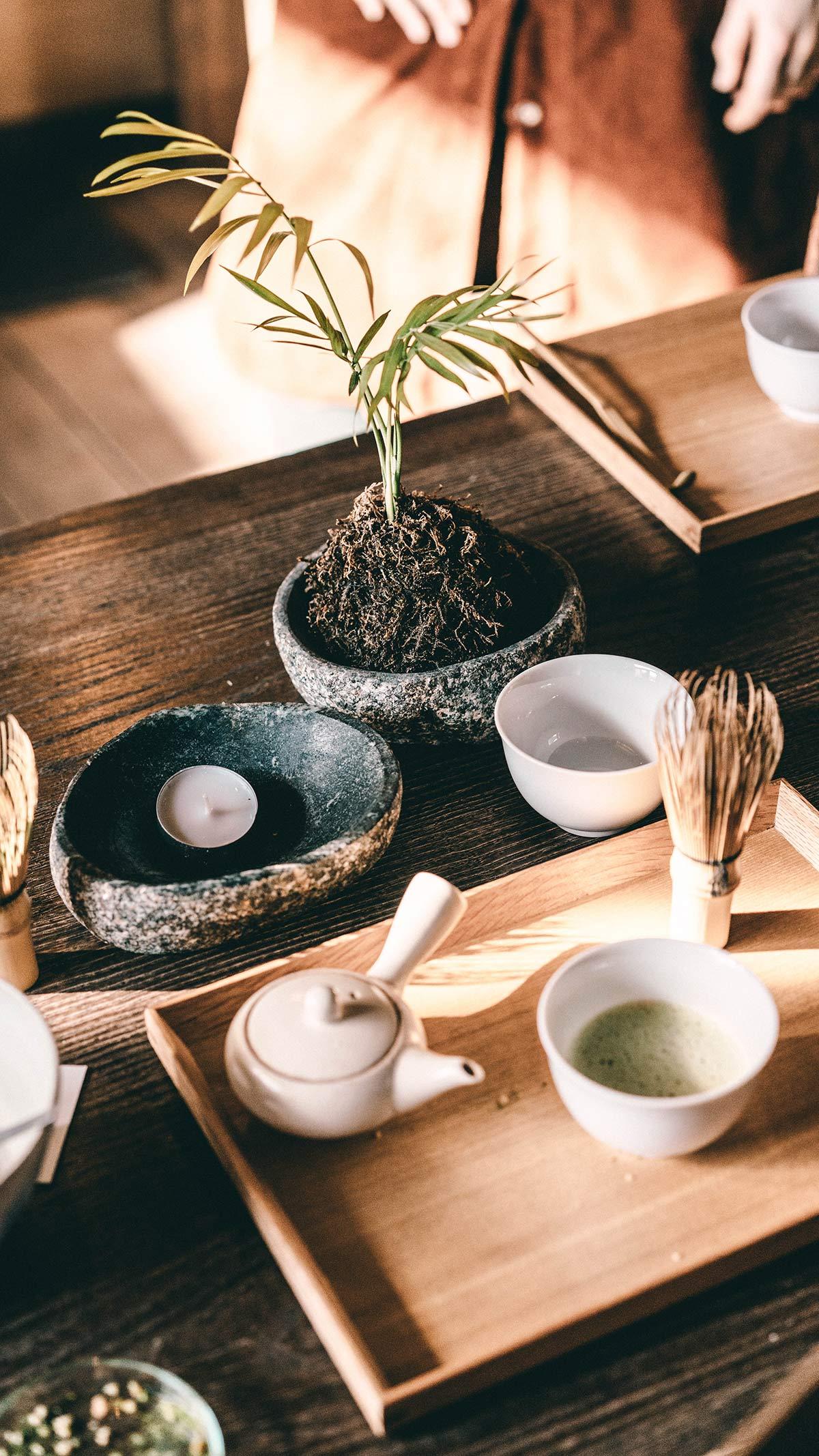 Zubehoer Teezeremonie