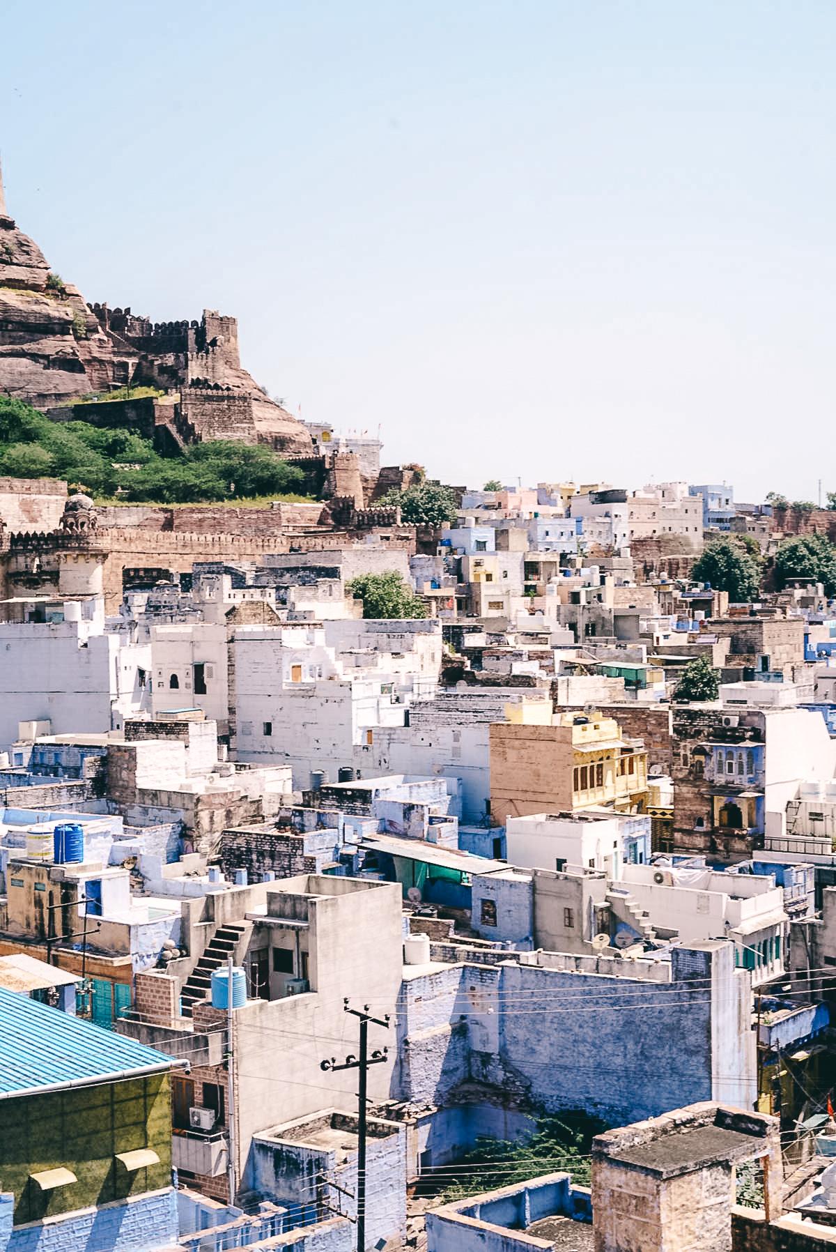 blick auf jodhpur sehenswuerdigkeiten