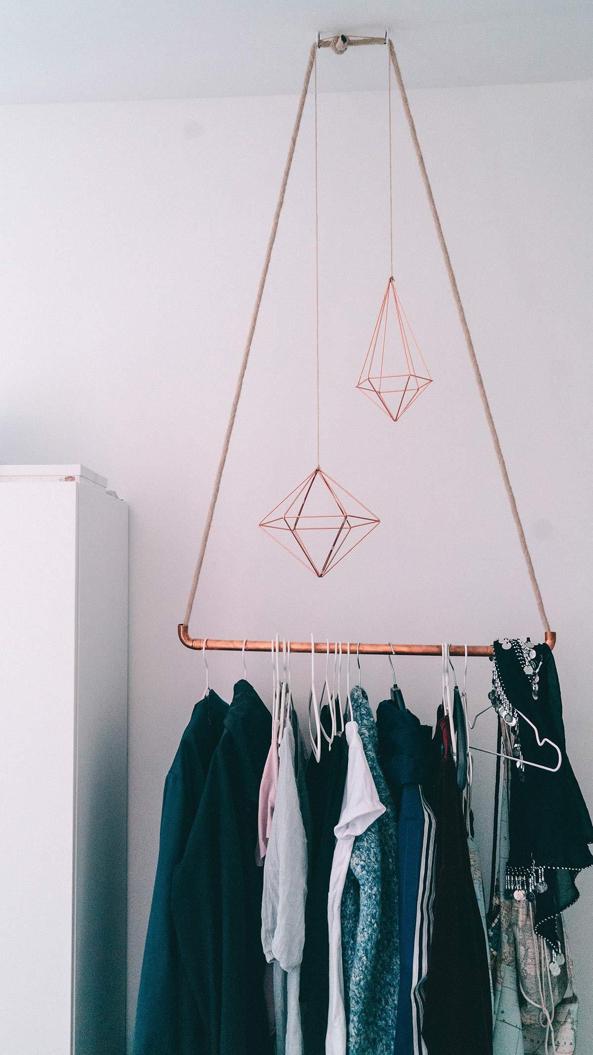 kupfer garderobe