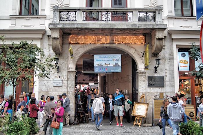 budapest insidertipps goszdu udvar