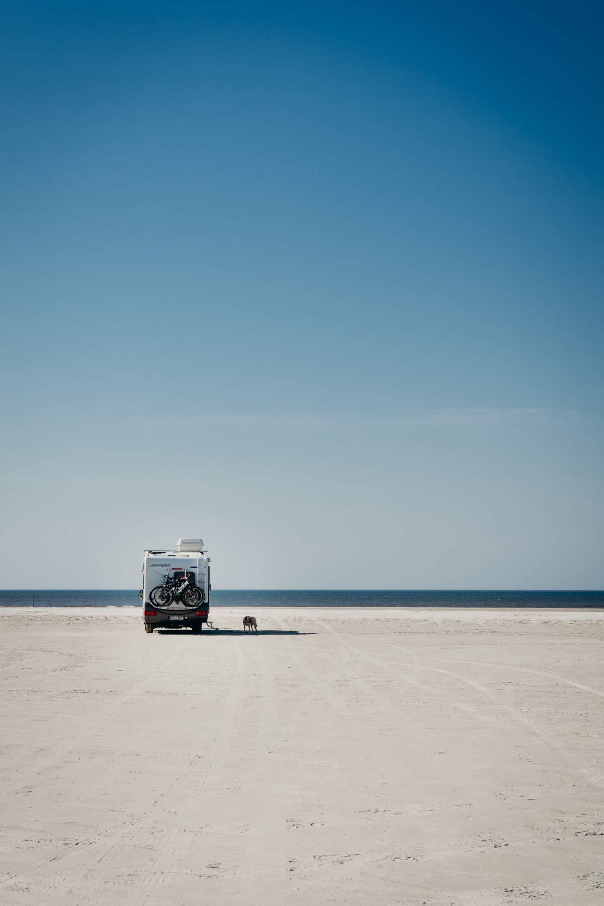 Fanø Sehenswürdigkeiten Strand