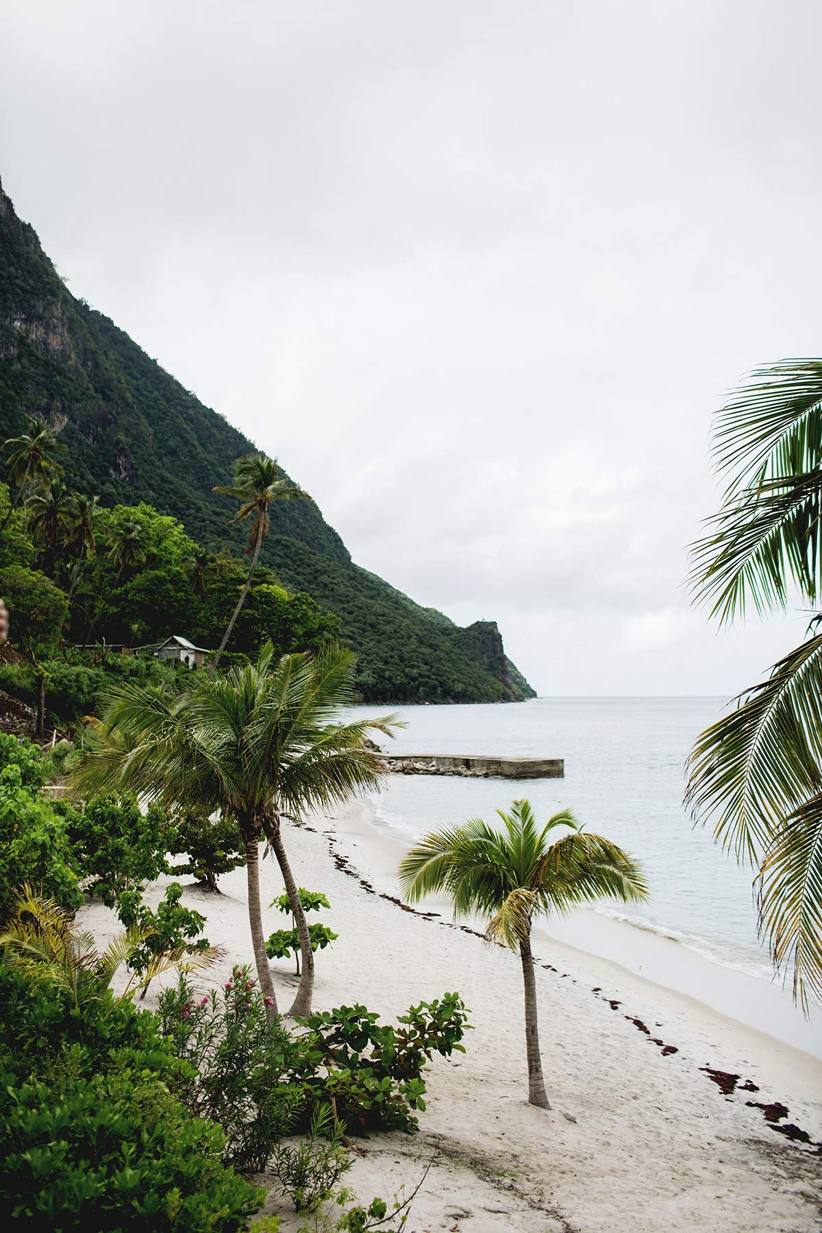 Hotel auf St Lucia