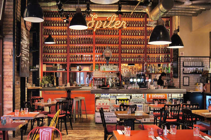 restaurant spiler in budapest