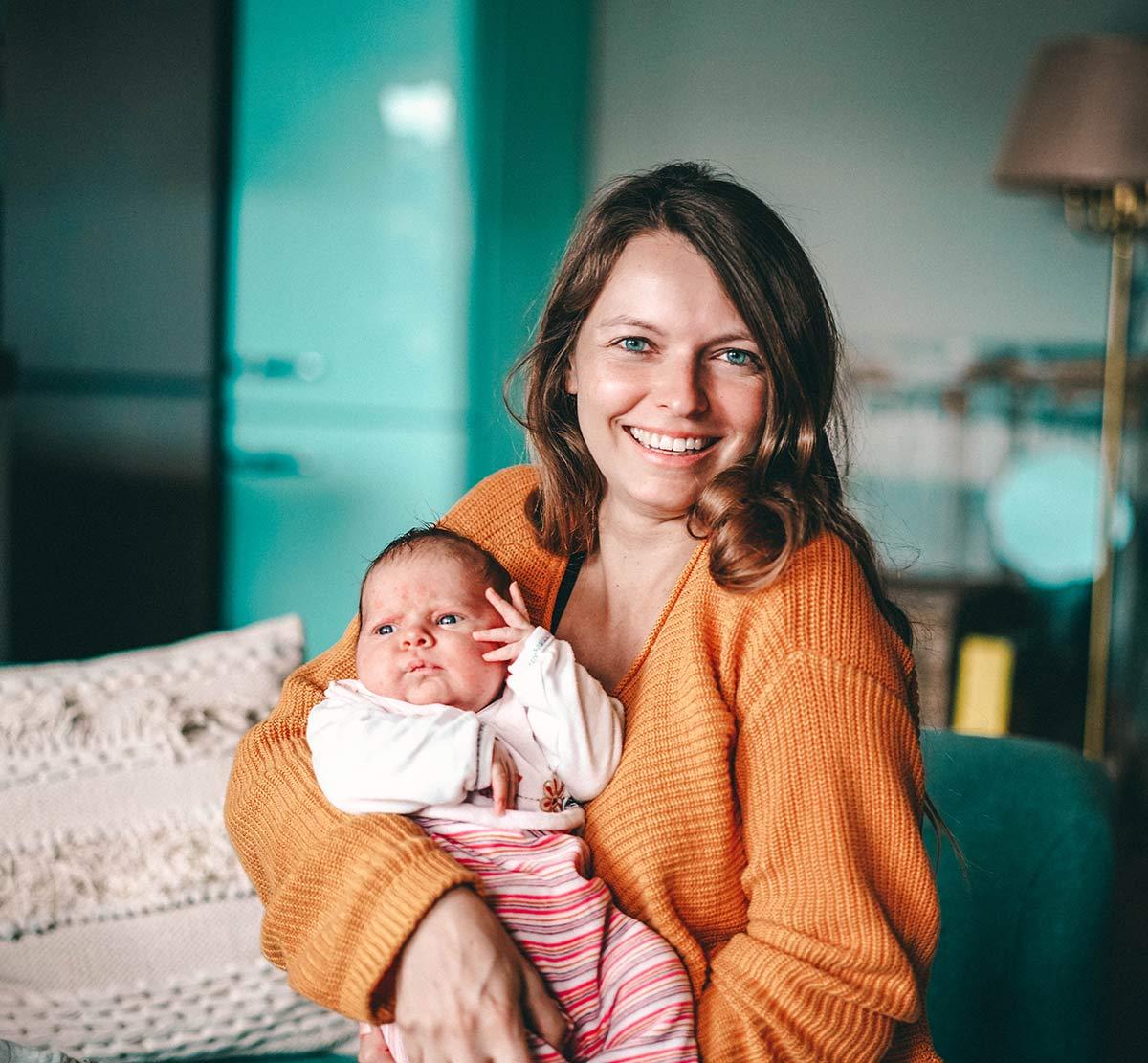 Christine Neder und Tochter