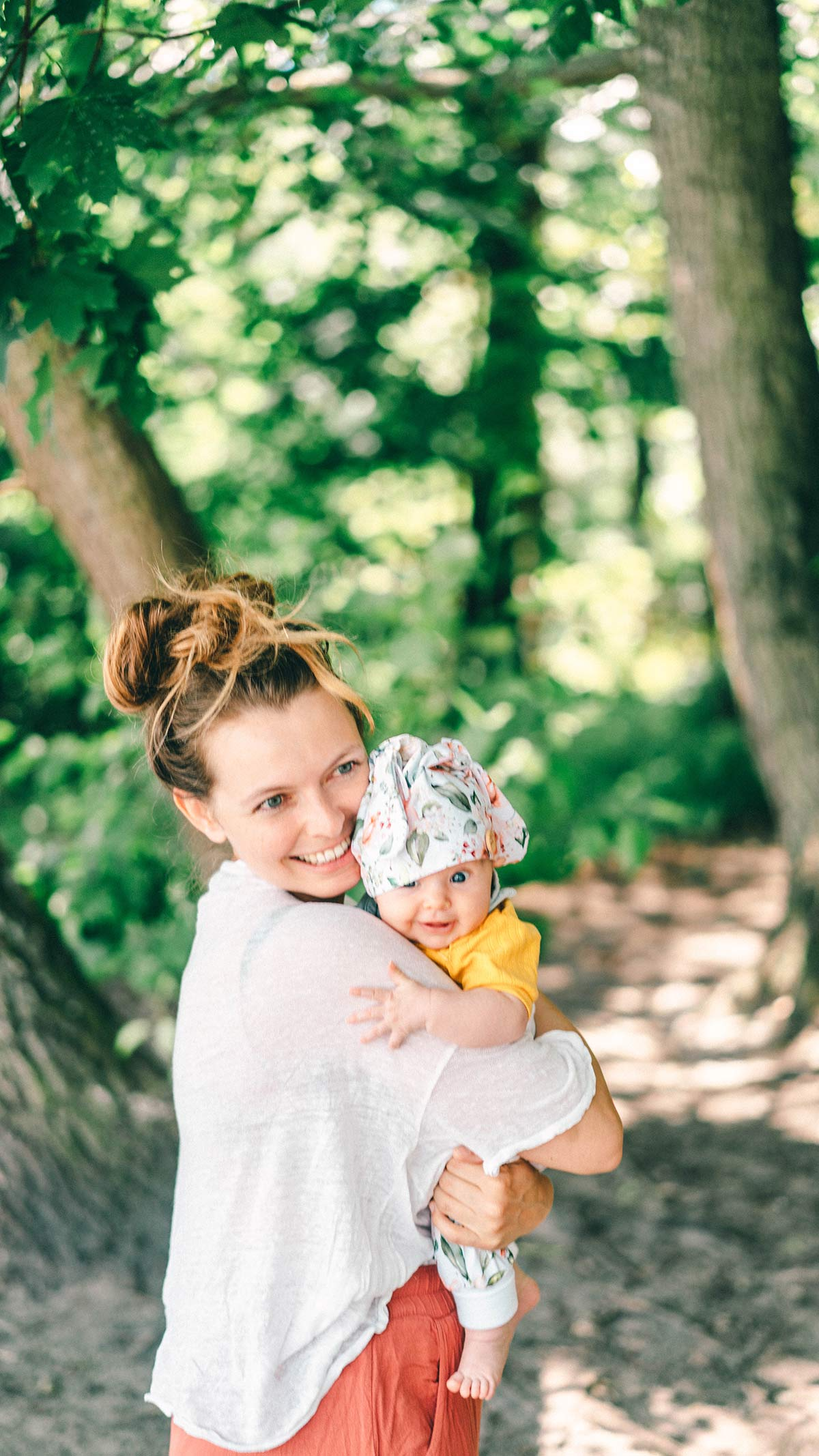 Christine Neder und Baby