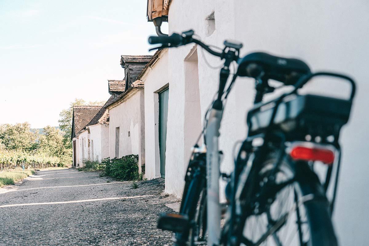 Fahrradrast am Kellergasse