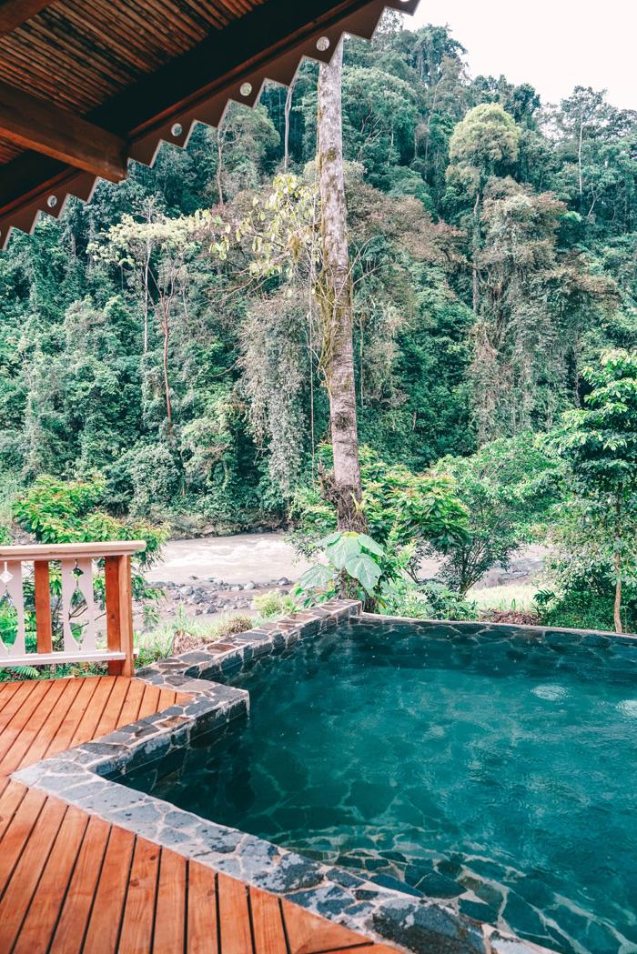 pool pacuare lodge