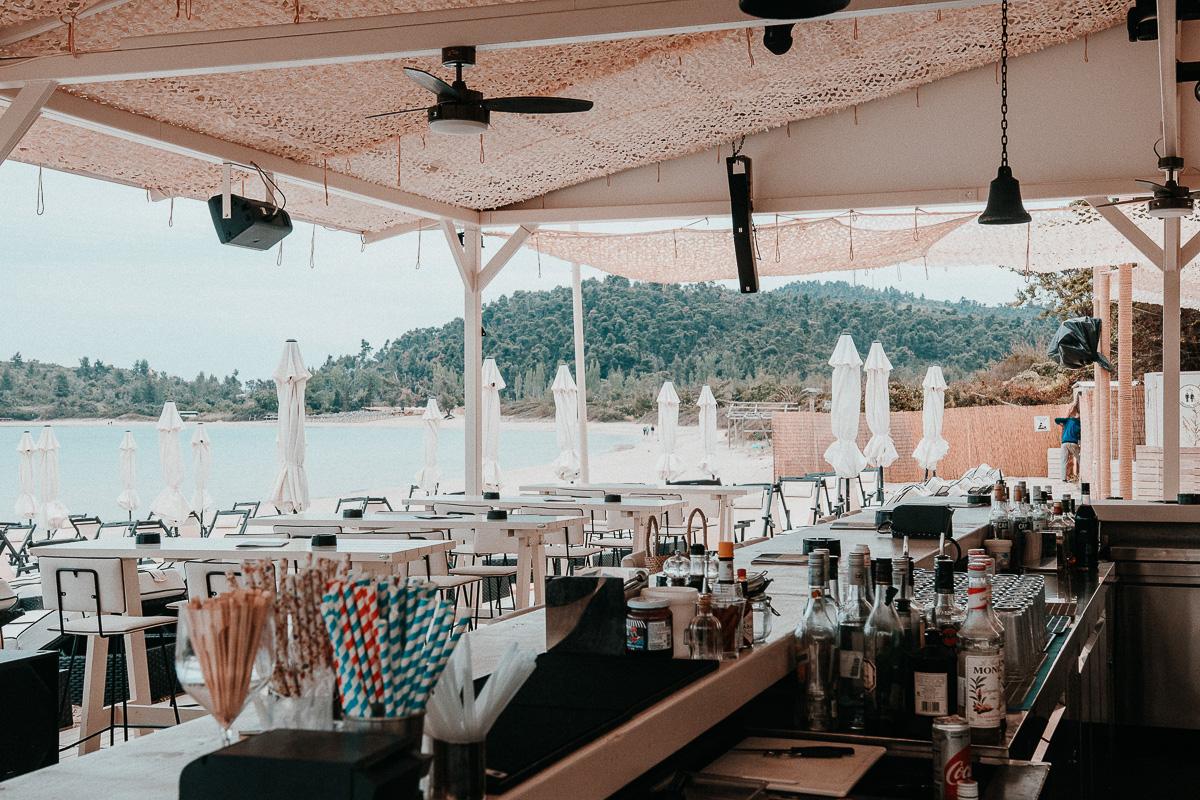 Chalkidiki Beachbar Griechenland