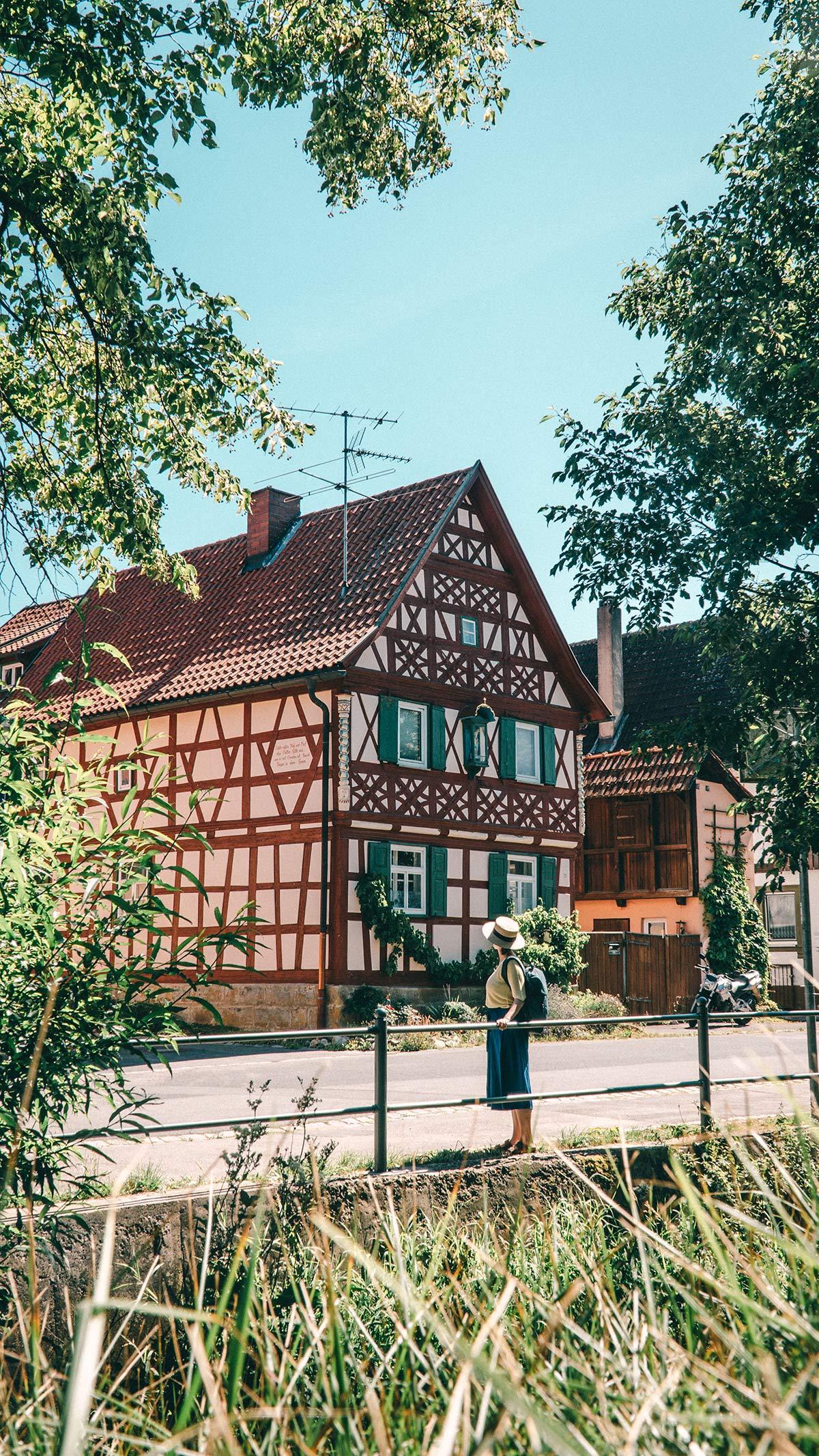 Genusswanderung Horsdorf Ortsbild
