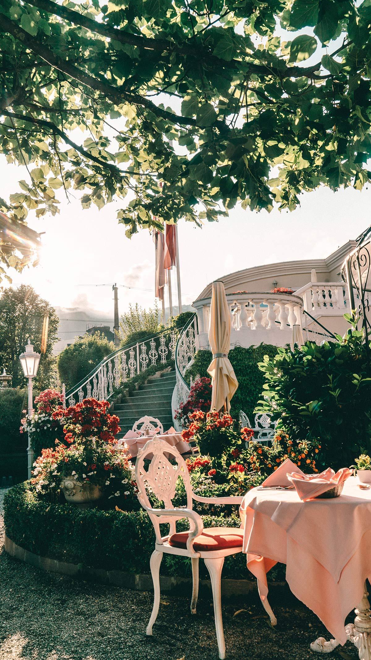 Grand Hotel Zell am See Garten