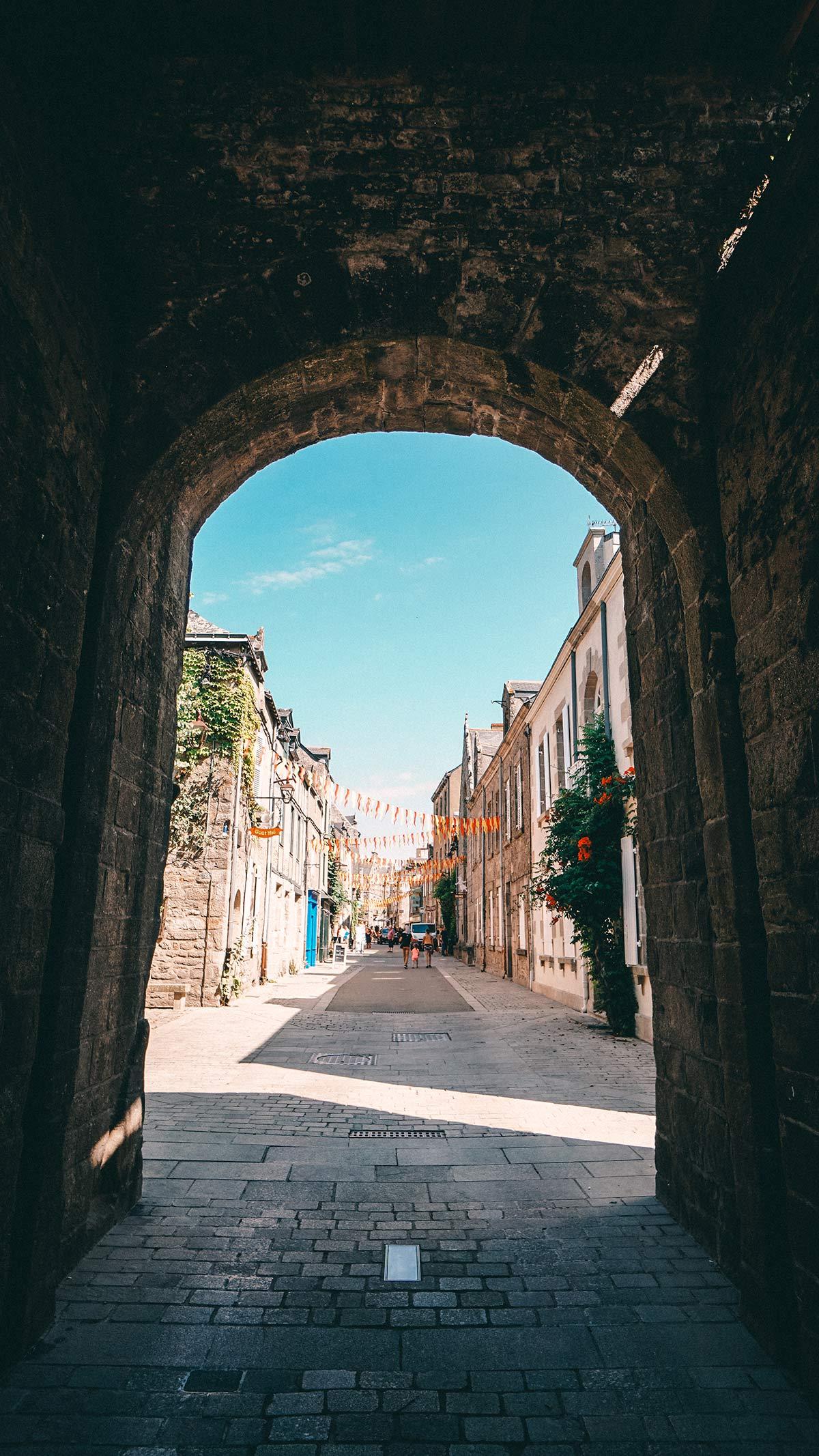 Guerande Stadtmauer Tor