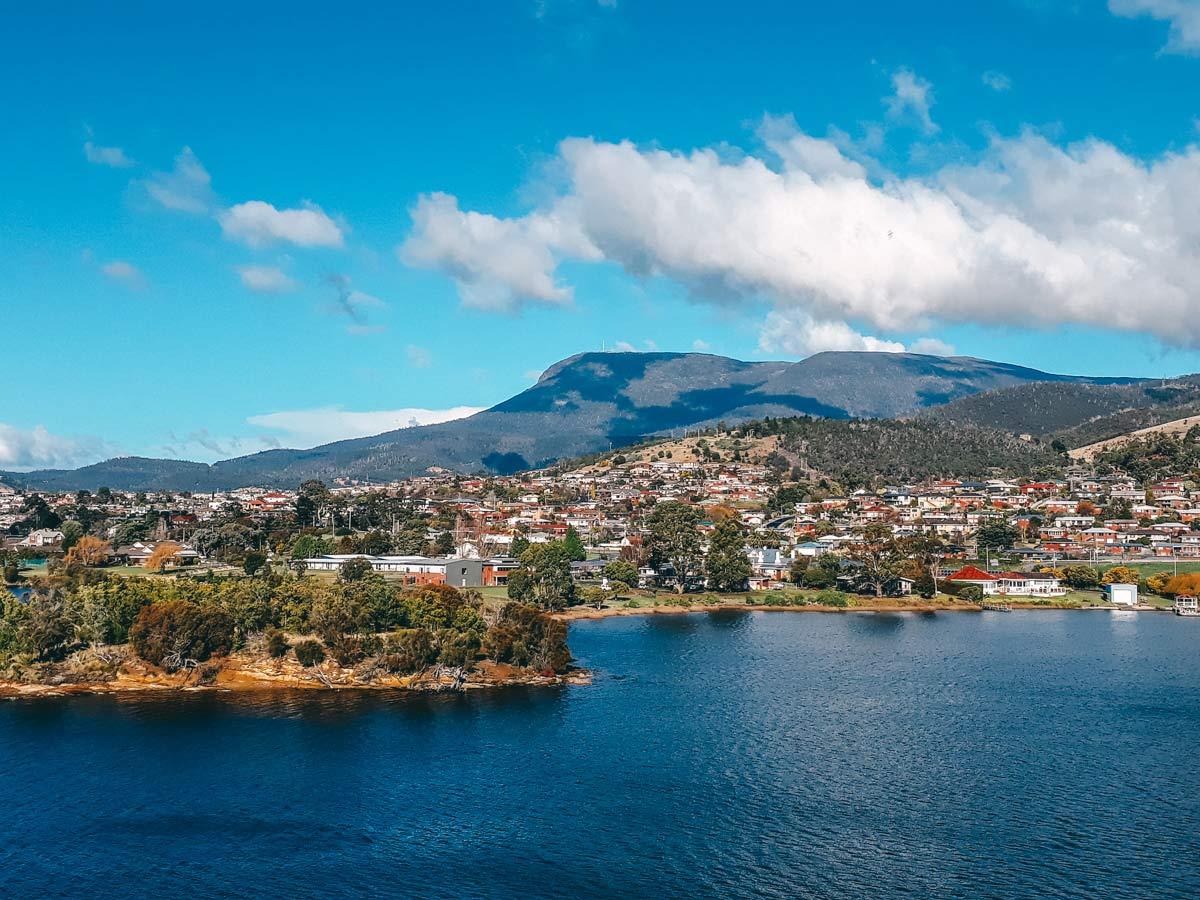 Hobart in Tasmanien